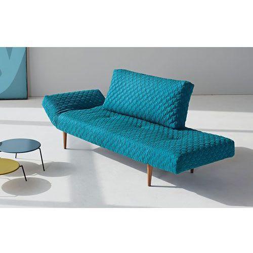 Istyle Zeal COZ Sofa, PETROL COZ tkanina 611, nogi drewniane - 740031611-2