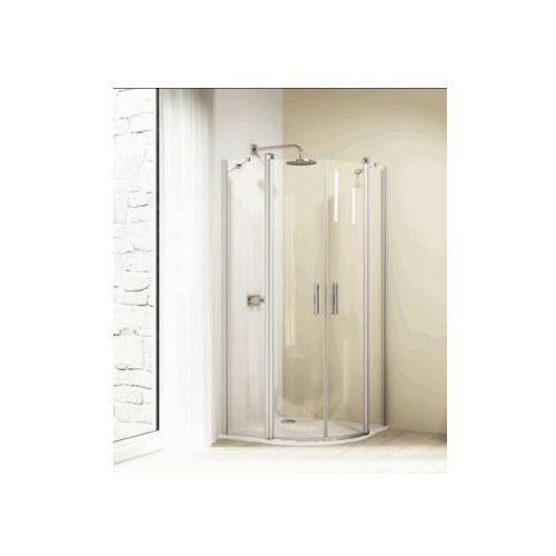 HUPPE DESIGN 1/4 koła ,drzwi skrzydłowe ze stałymi segmentami , 2-częściowe 8E1701 (drzwi prysznicowe)