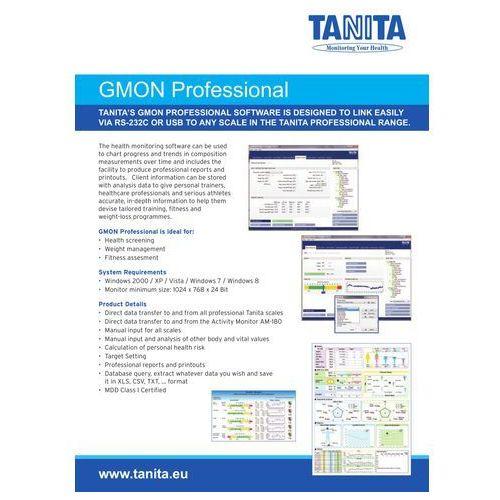 Oprogramowanie do Wagi / Monitora Składu Ciała TANITA BC-1000 GMON FIT 3 - produkt z kategorii- Pozostałe oprogramowanie