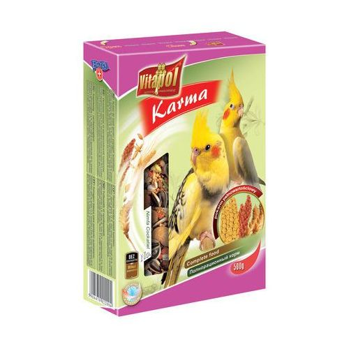 Pokarm dla nimfy  - 0,5 kg, 1 kg Waga:1 kg, Vitapol