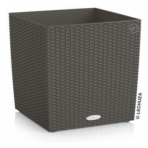 Donica Lechuza Cube Cottage granit, produkt marki Produkty marki Lechuza