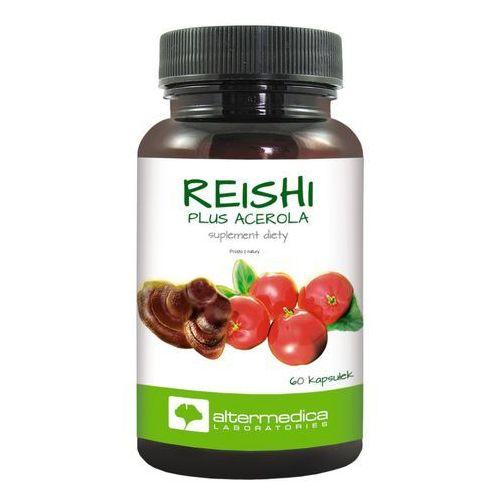 Reishi plus acerola 60 kaps., postać leku: kapsułki