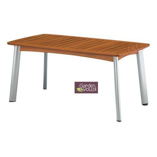 Stół aluminiowo-drewniany 160x95 (stół ogrodowy)
