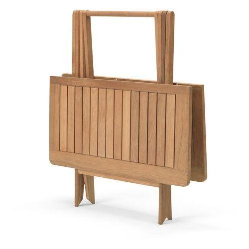 Stół składany Skagerak Nautic teak 85x85x70 cm (stół ogrodowy)
