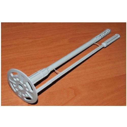 Oferta Łącznik izolacji do styropianu wzmocniony Ø10mm L=140mm opakowanie 400 sztuk ... (izolacja i ocieplenie)