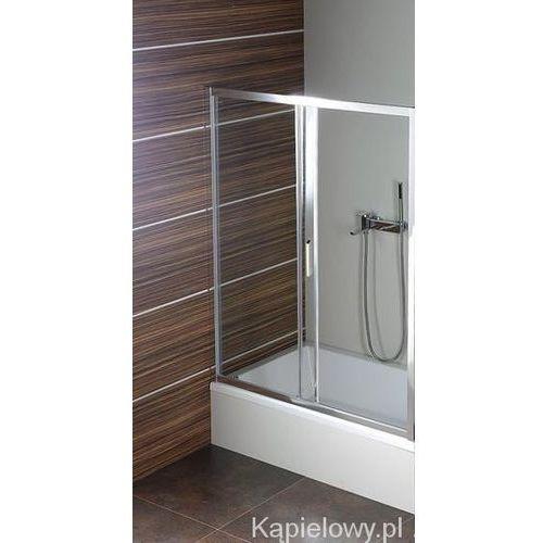 DEEP Drzwi prysznicowe do wnęki 120x150cm MD1215 (drzwi prysznicowe)