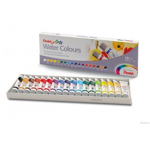 Oferta Farba akwarelowa PENTEL WFRS-18 18 kolorów [2552d4a8ff93f338]