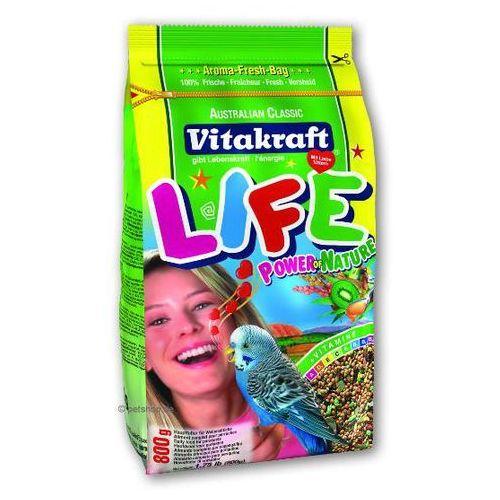 VITAKRAFT Life Power – karma dla papużek falistych 800g, Vitakraft