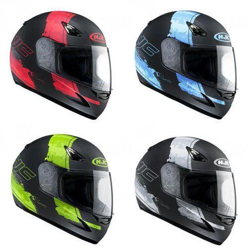 Kask HJC CS-14 PAS-BLUE, PAS-GREEN, PAS-GREY, PAS-RED z kategorii kaski motocyklowe