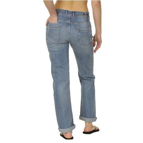 Produkt z kategorii- spodnie męskie - jeansy Quiksilver Boyfriend Trend - Dusty Blue