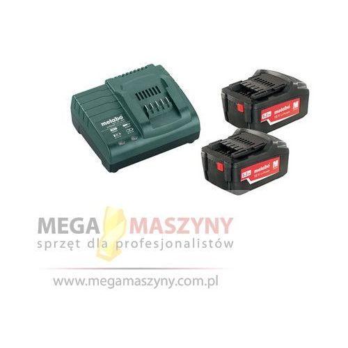 METABO Zestaw - akumulatory i ładowarka 18 V/5,2Ah+ASC 30-36 V, kup u jednego z partnerów