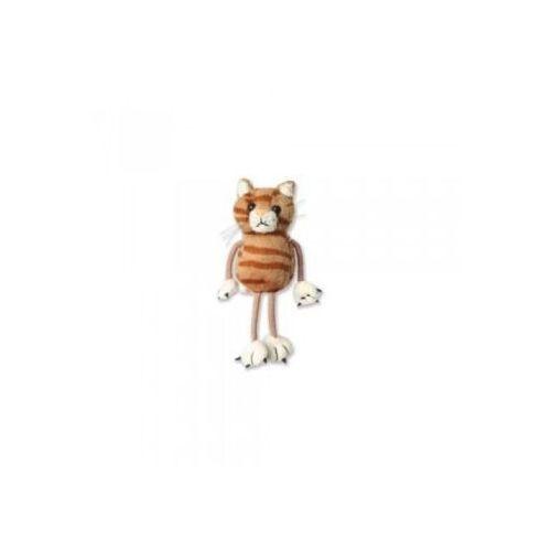 Kot - pacynka na palec (pacynka, kukiełka)