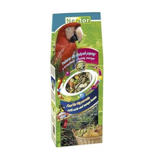 NESTOR Pokarm dla dużych papug z orzechami i fasolą mungo 700ml