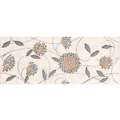 Oferta Synthia Grys Inserto Kwiatek 20x50 (glazura i terakota)