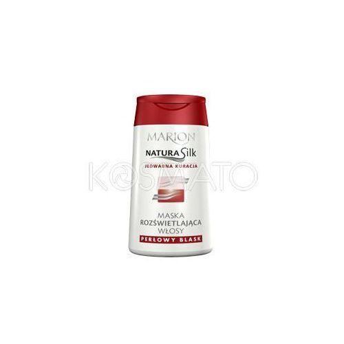 Produkt z kategorii- pozostałe kosmetyki do włosów - Marion Natura Silk Rozświetlenie Maska, 120 ml