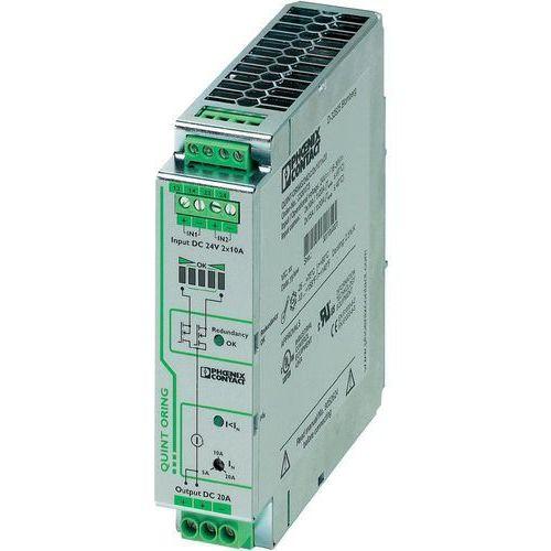 Artykuł Zasilacz na szynę Phoenix Contact QUINT-ORING/24DC/2X10/1X20, 24 V, 20 A z kategorii transformatory