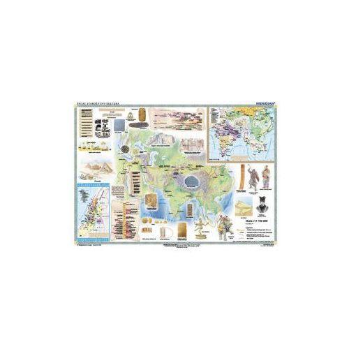 Produkt Starożytny wschód - cywilizacje wielkich rzek i ich kultury. Mapa ścienna starożytnego Wschodu, marki Meridian