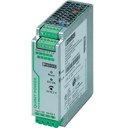 Artykuł Zasilacz na szynę Phoenix Contact QUINT-PS/3AC/24DC/5, 24 V, 5 A z kategorii transformatory