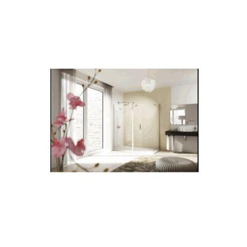 HUPPE DESIGN drzwi skrzydłowe ze stałym segmentem do rozwiązań Walk-In 8E1201 (drzwi prysznicowe)