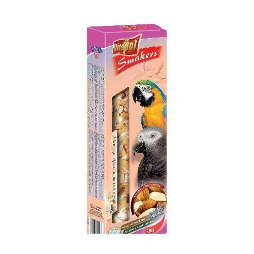Smakers Kolby XXL migdałowe dla dużych papug 2 sztuki, Vitapol