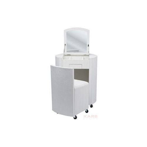 Oferta Kare Design Comparsa Croco Biała Toaletka, Biały Lakier Matowy, Skóra Ekologiczna - 76254 [b563d6a23f33d2dd]