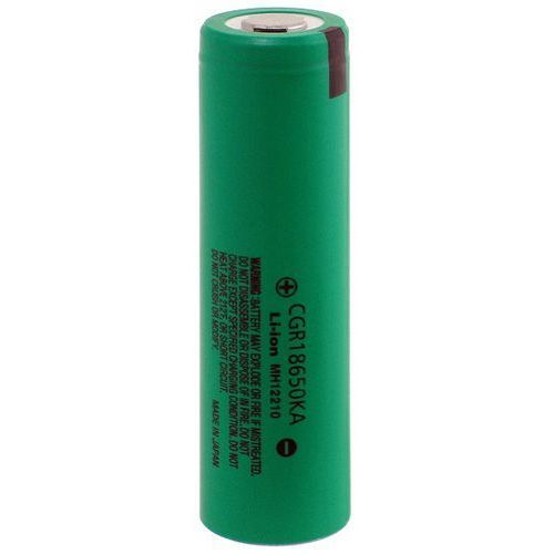 PANASONIC CGR18650KA 1750mAh Li-ION z kat.: akumulatory dedykowane