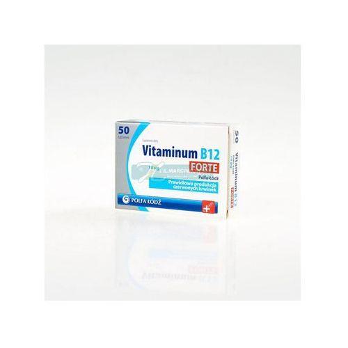 Vitaminum B12 Forte 10mcg 50 tabl., postać leku: tabletki