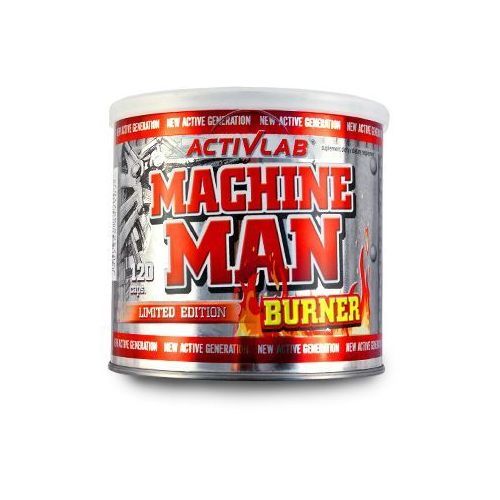 Machine Man Burner - 120 kaps.