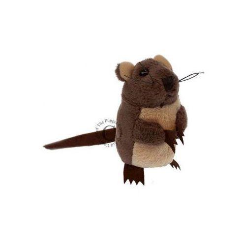 Brązowa mysz - pacynka na palec (pacynka, kukiełka)