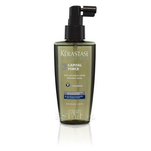 Kerastase Homme Capital Force - Spray przeciwłupieżowy dla mężczyzn 125 ml - produkt z kategorii- odżywki do włosów