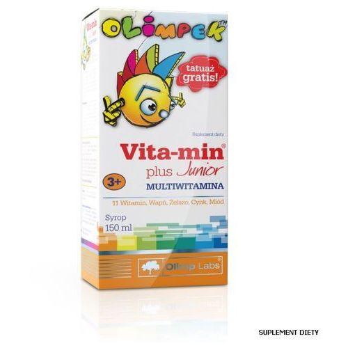 OLIMPEK Vita-Min Plus Junior Multivitamina, postać leku: syrop
