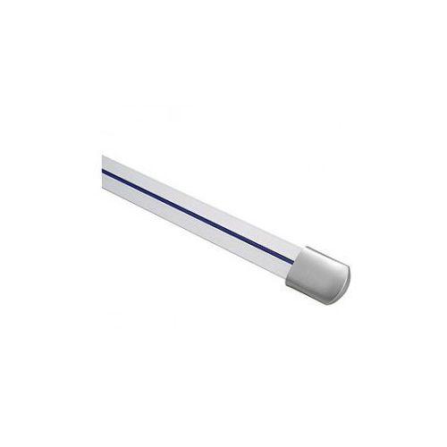 Oferta Linux szyna, 1 M, z 2 końcówkami, srebrno - szara z kat.: oświetlenie