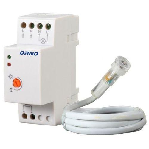 Orno Czujnik automat zmierzchowy z zewnętrzną sondą 1200W IP44 OR-CR-219 z kategorii oświetlenie