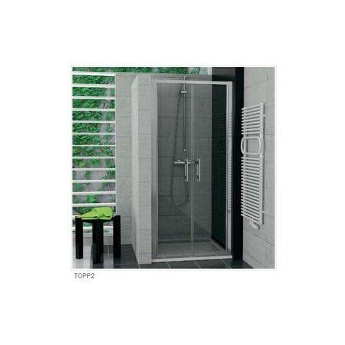 SANSWISS TOP-LINE Drzwi dwuczęściowe TOPP2 (drzwi prysznicowe)