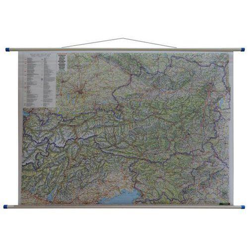 Austria mapa ścienna samochodowa 1:500 000 Freytag & Berndt, produkt marki Freytag&Berndt
