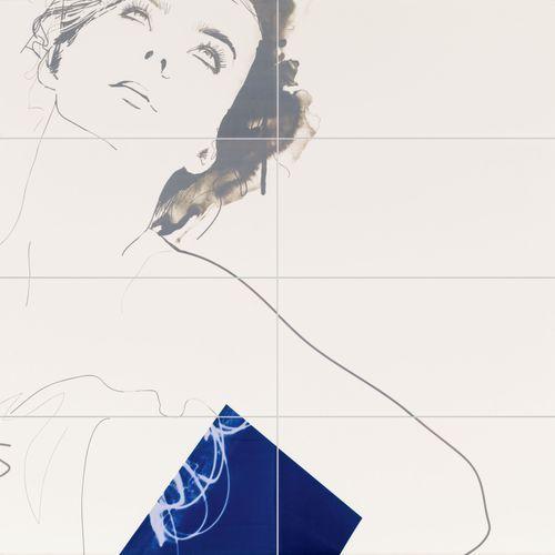 Tubądzin Berlin Tegel Dekor ścienny Valerie 119,8x119,8 cm 8-elementowy - odbiór osobisty: Warszawa, Krakó