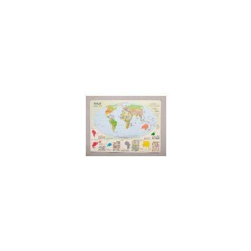 Podkadka na biurko - Mapa polityczna Świata od Księgarnia Profit24