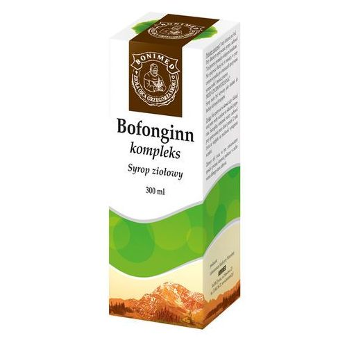 [syrop] BOFONGINN KOMPLEX Syrop ziołowy - - 300 ml