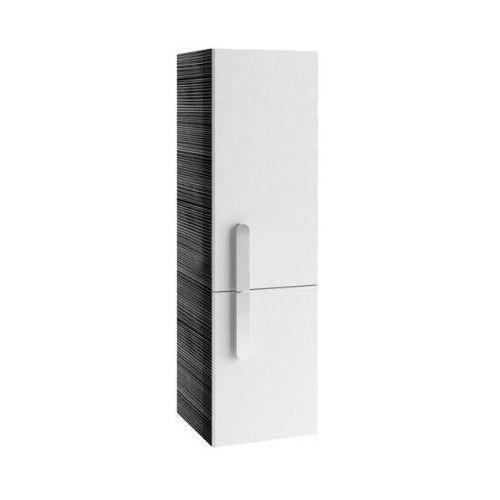 Produkt z kategorii- regały łazienkowe - CHROME - Słupek SB 350 biały/Strip Onyx, prawy