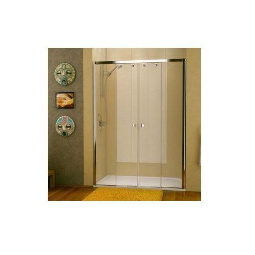SANSWISS PUR LIGHT S Drzwi rozsuwane czteroczęściowe PLS4 (drzwi prysznicowe)