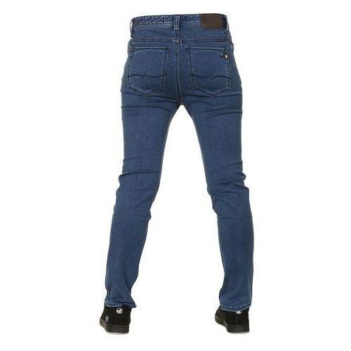 jeansy Quiksilver Slacker Indigo Kid's - Blue Work - produkt z kategorii- spodnie męskie