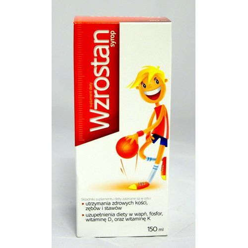 Wzrostan syrop 150 ml, postać leku: syrop