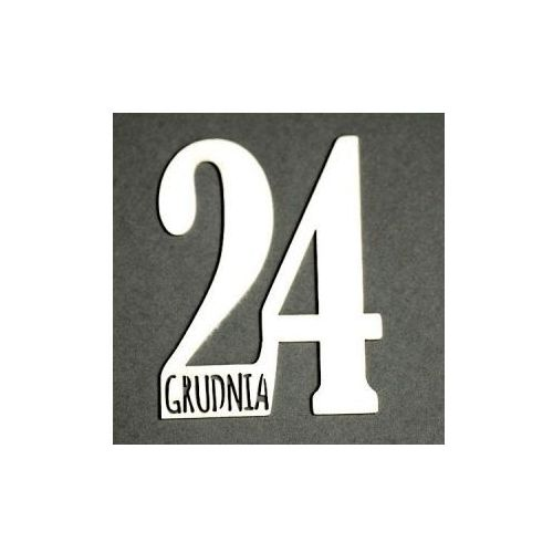 Oferta Kreatywne tekturki 24 GRUDNIA