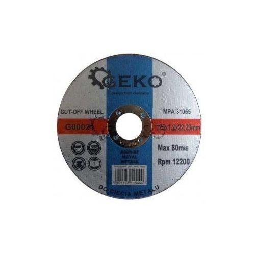 Oferta TARCZA DO CIĘCIA METALU 125x1.2x22,2 GEKO G00021