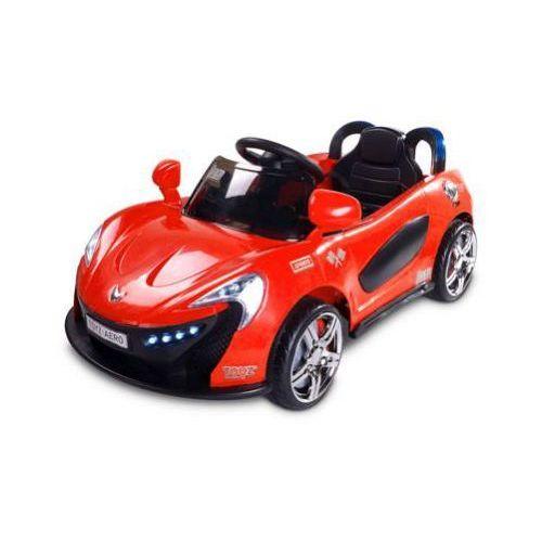 Caretero Toyz Samochód na akumulator dziecięcy Aero czerwony red ze sklepu strefa-dziecko.pl