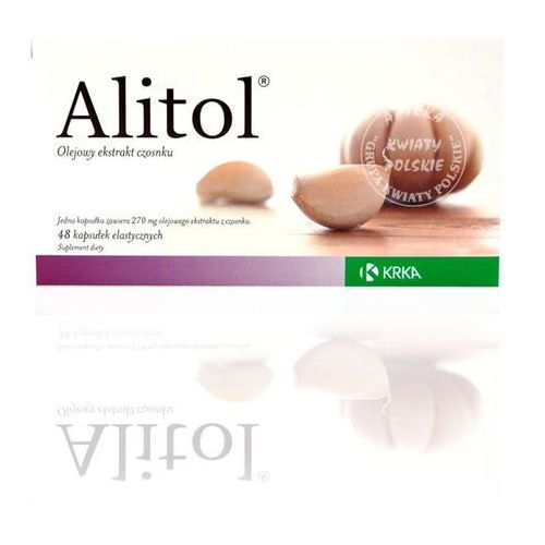 ALITOL 48 kapsułek, postać leku: kapsułki