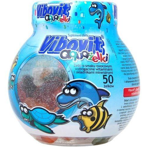 Vibovit aquażelki x 50 żelków, postać leku: żelki