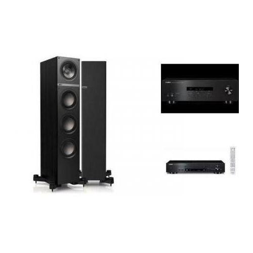 Artykuł YAMAHA R-S201 + CD-N301 + KEF Q500 czarne z kategorii zestawy hi-fi
