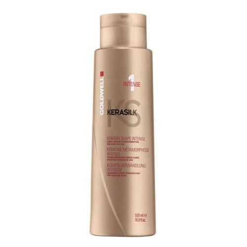 Goldwell Keratin Treatment Shape Intense - keratynowy zabieg prostowania 500ml - produkt z kategorii- odżywki do włosów