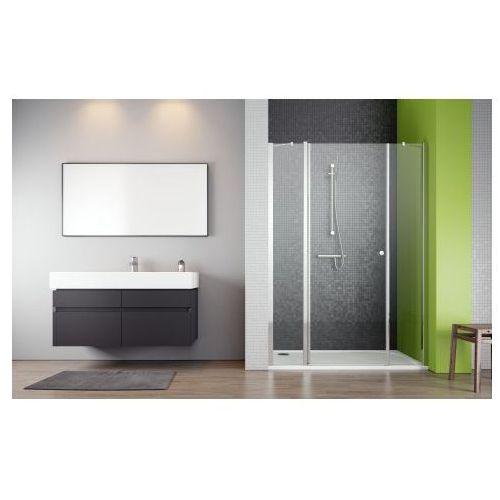 Radaway Eos II DWS Drzwi wnękowe jednoczęściowe - 140/195 cm Wersja lewa - 3799456-01L (drzwi prysznicowe)